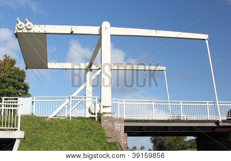 Bascule Bridge In East Frisia