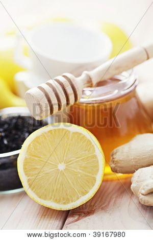 all you need to make ginger tea - tea time