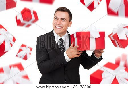 businessman creative design