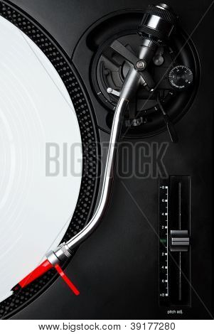 Professional Turntable For A Dj