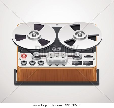 Vector reel-to-reel recorder