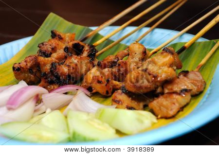 Sticks Of Satay