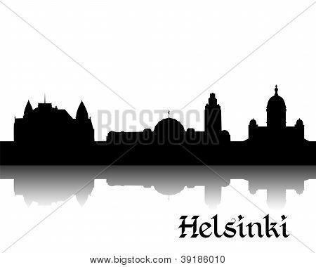 Silhouette of Helsinki