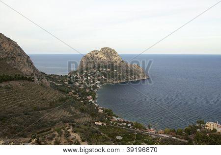 Capo Zafferano, near Palermo, Sicily