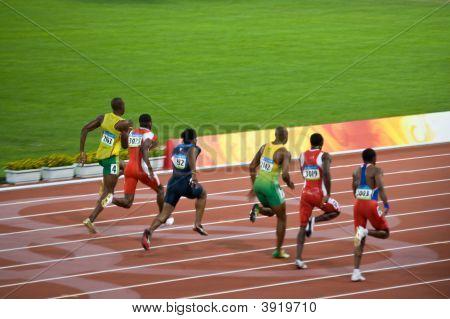 Mens 100-meter Sprint
