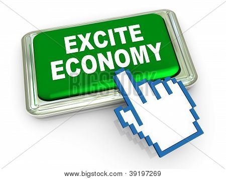 3D Excite Economy Button