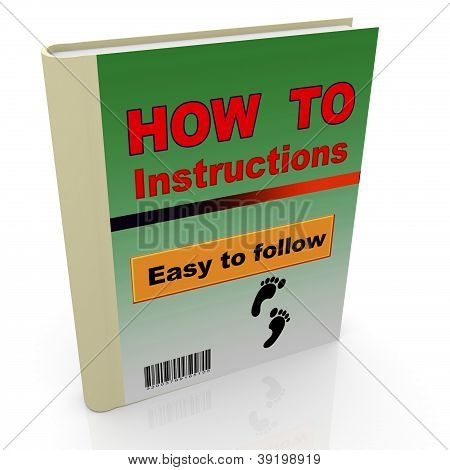 3D How To Book