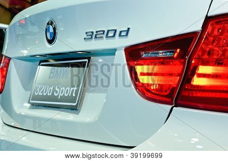 Rear Of Bmw 320D Sport