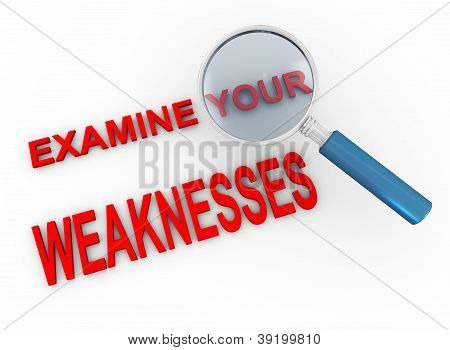 Examine Your Weaknesses