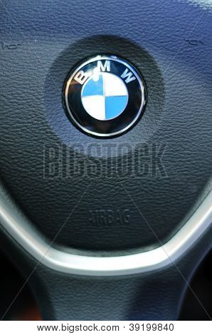 Steering Wheel Of Bmw