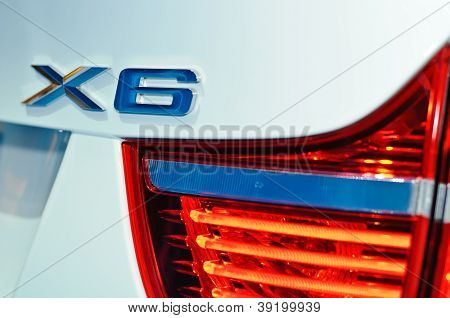 Rear Light Of Bmw X6