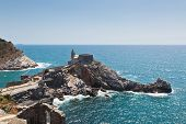Church Of San Pietro At Portovenere, Italy