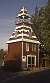 stock photo of firehouse  - This is a historic firehouse in Auburn California the oldest in the west - JPG