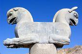 Double Griffin Statue - Persepolis