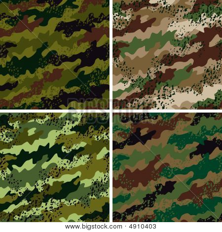 Grunge Camo Pattern