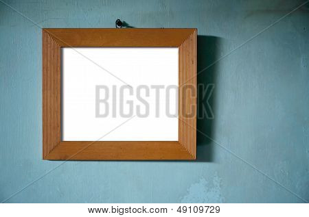 Brown Wood Photo Frame