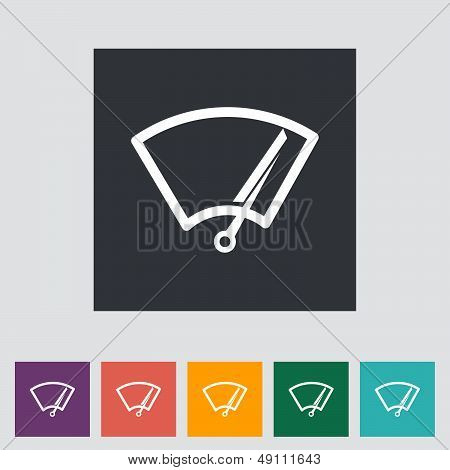 Car Icon Wiper.