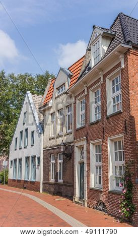 Old Houses In The Center Of Leer, Germany