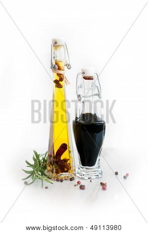 vinegar and oil