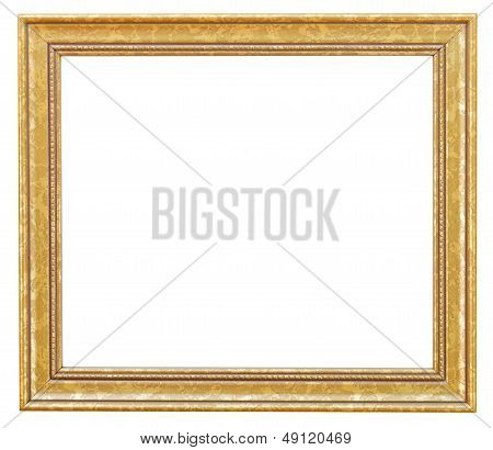 Wide Gilded Picture Frame