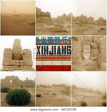 Jiaohe Ancient City In Xinjiang