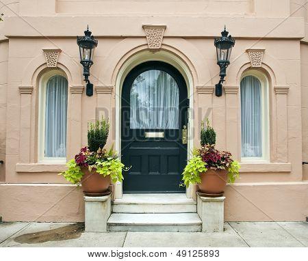 Charleston House Entrance