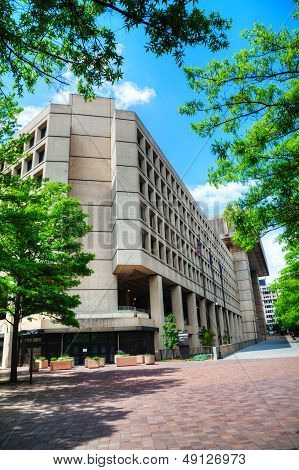 Fbi Building In Washington, Dc
