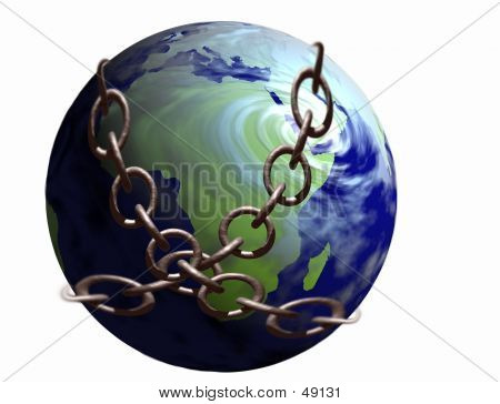 World In Chains poster