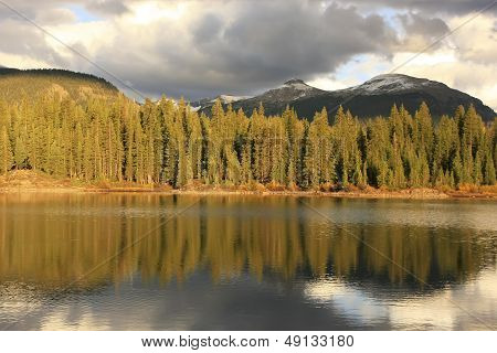 Molas Lake And Needle Mountains, Weminuche Wilderness, Colorado