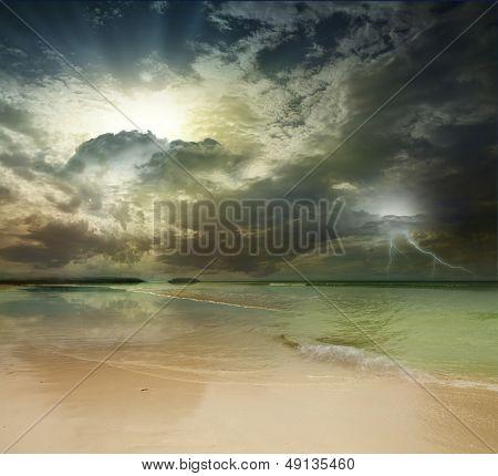 Andaman Sea, Phuket Island. Thailand