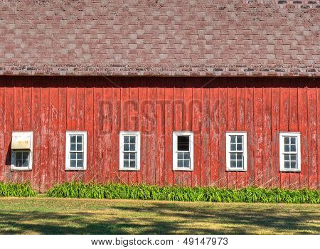 The Broadside Of A Barn
