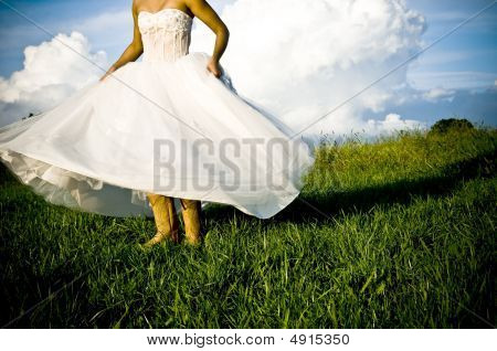 Bride And Boots