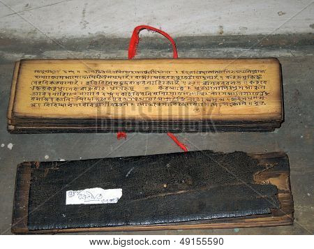 Traditional Indian book (grantha)
