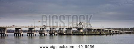 Swing Bridge Panorama