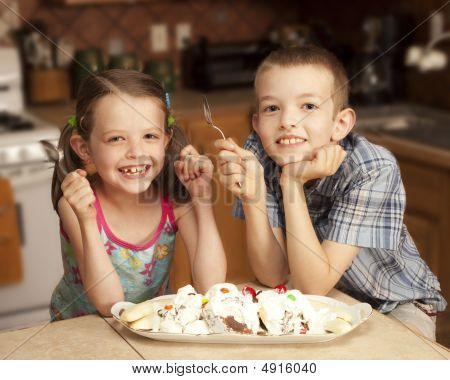 Kids And Ice Cream