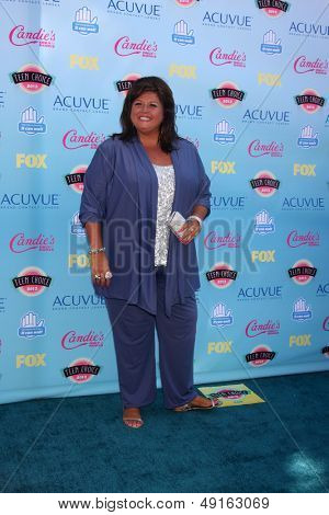 LOS ANGELES - AUG 11:  Abby Lee Miller at the 2013 Teen Choice Awards at the Gibson Ampitheater Universal on August 11, 2013 in Los Angeles, CA