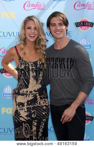 LOS ANGELES - AUG 11:  Steven R. McQueen at the 2013 Teen Choice Awards at the Gibson Ampitheater Universal on August 11, 2013 in Los Angeles, CA