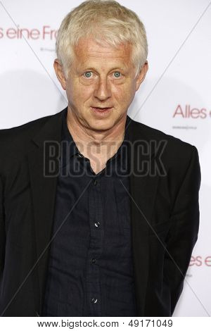 MUNICH - AUG 10: Richard Curtis at the screening of 'About Time' at the Kino am Olympiasee on August 10, 2013 in Munich, Germany