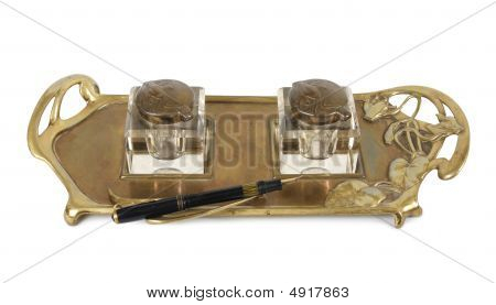 Old Inkstand