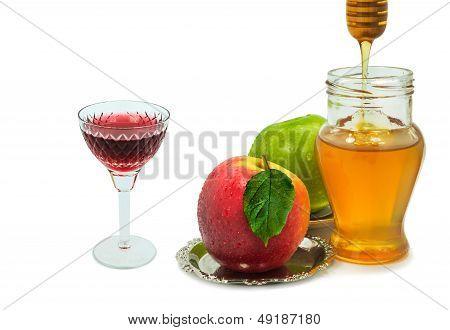 Traditional food for Rosh Hashanah