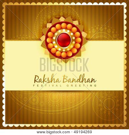 rakhi festival vector background design