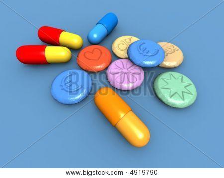 Comprimidos de ecstasy