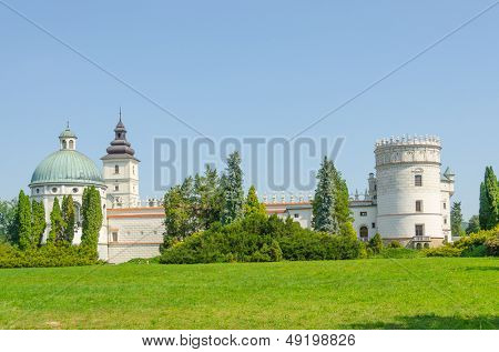 Krasiczyn castle, Poland