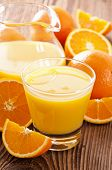 stock photo of pitcher  - orange juice - JPG