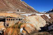 image of aconcagua  - puente del inca in mendoza province of argentina - JPG