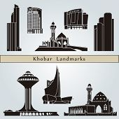 Khobar Landmarks And Monuments poster
