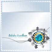stylish rakhi background with space for your text