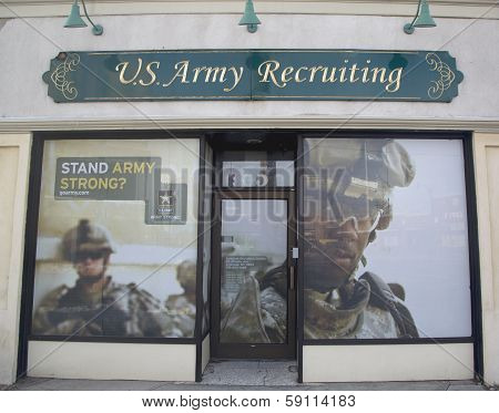 U.S. Army Recruiting Station in Lynbrook, New York