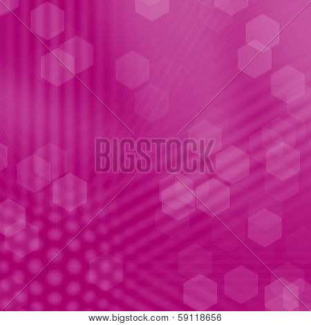 Abstract pink patten background with bokeh