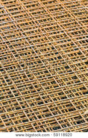 Square Steel Grid